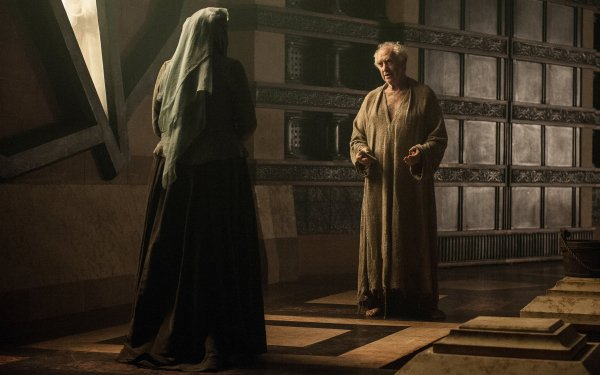TV Show Game Of Thrones Olenna Tyrell High Sparrow Diana Rigg Jonathan Pryce HD Wallpaper | Background Image
