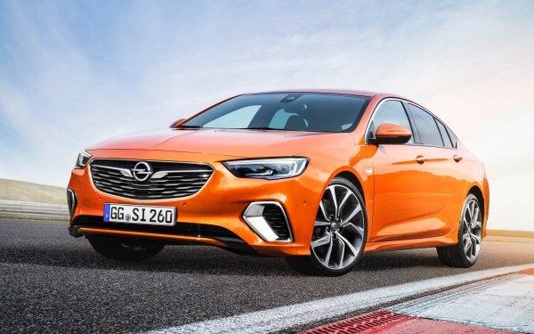 Vehicles Opel Insignia Opel Car Orange Car HD Wallpaper   Background Image