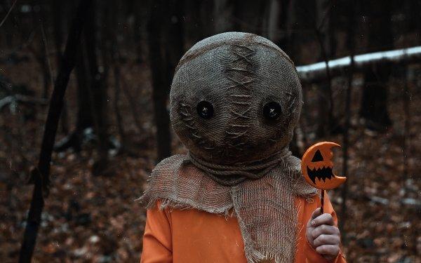 Movie Trick 'r Treat Halloween Creepy HD Wallpaper | Background Image