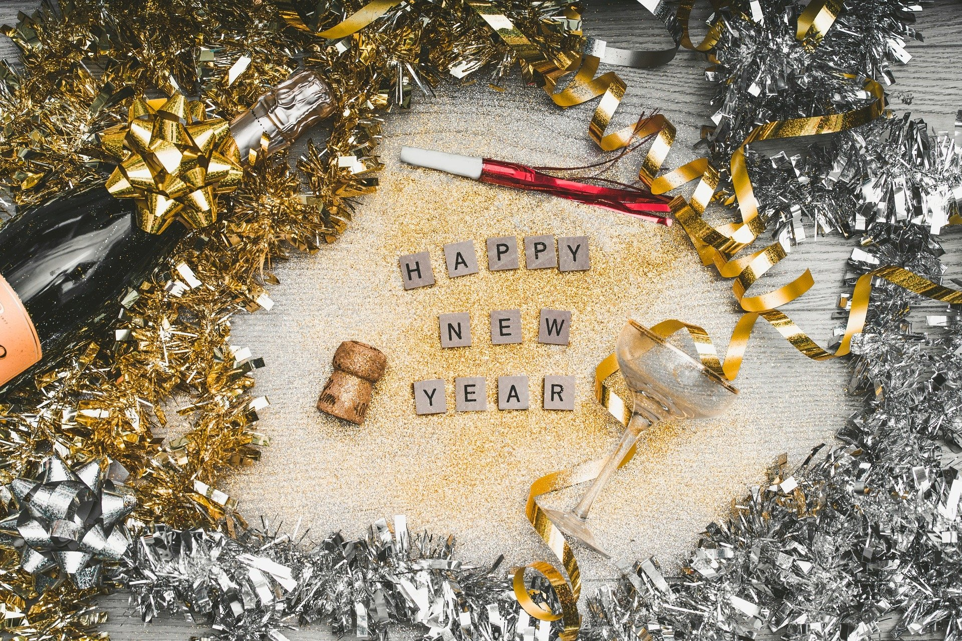 Holiday - New Year  Happy New Year Decoration Wallpaper