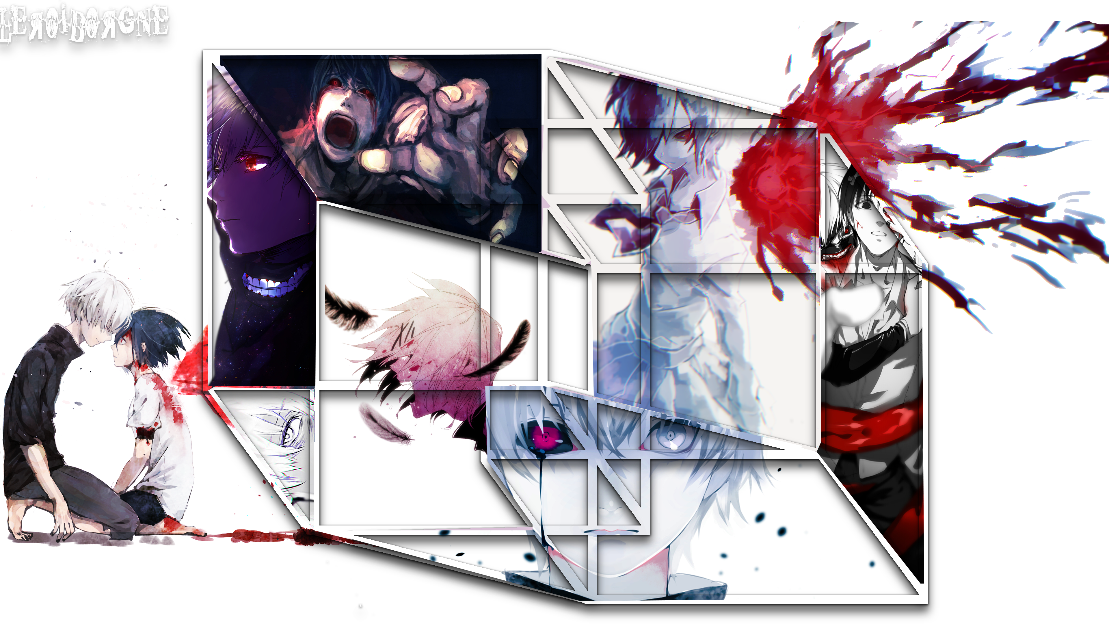 Tokyo Ghoul 4k Ultra HD Wallpaper | Background Image | 3840x2160 | ID:896800 - Wallpaper Abyss
