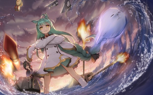 Anime Azur Lane Akashi Shiranui HD Wallpaper | Background Image
