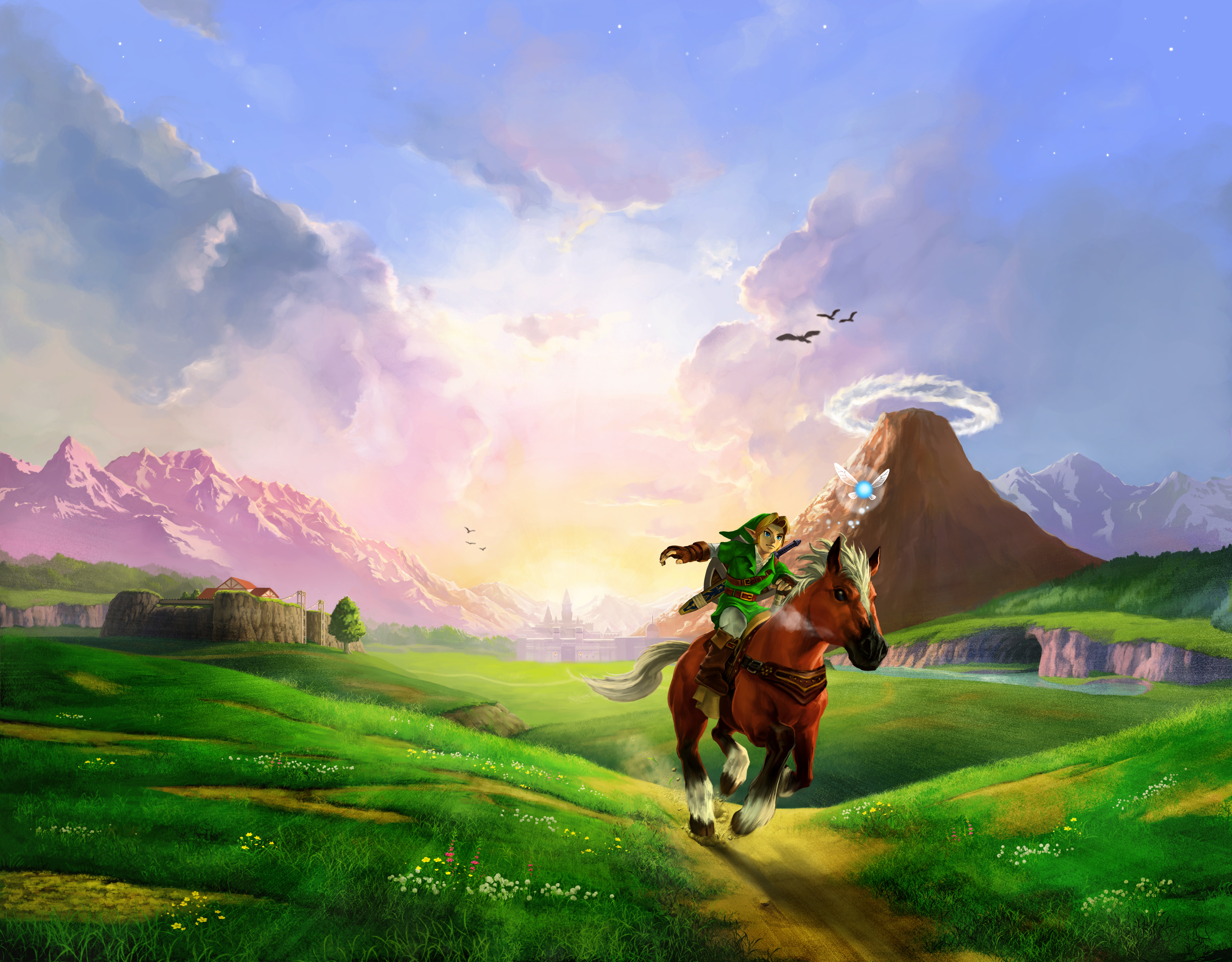 144 the legend of zelda: ocarina of time hd wallpapers | background
