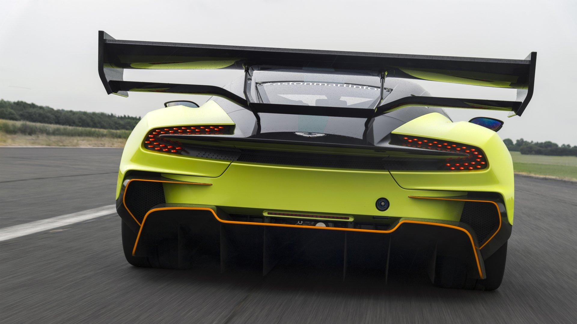 Vehicles - Aston Martin Vulcan  Aston Martin Vulcan AMR Pro Aston Martin Supercar Wallpaper