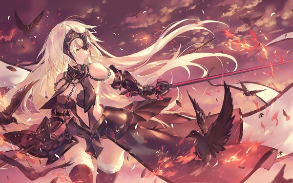 Anime Fate/Grand Order Fate Series Jeanne d'Arc Alter Avenger HD Wallpaper   Background Image
