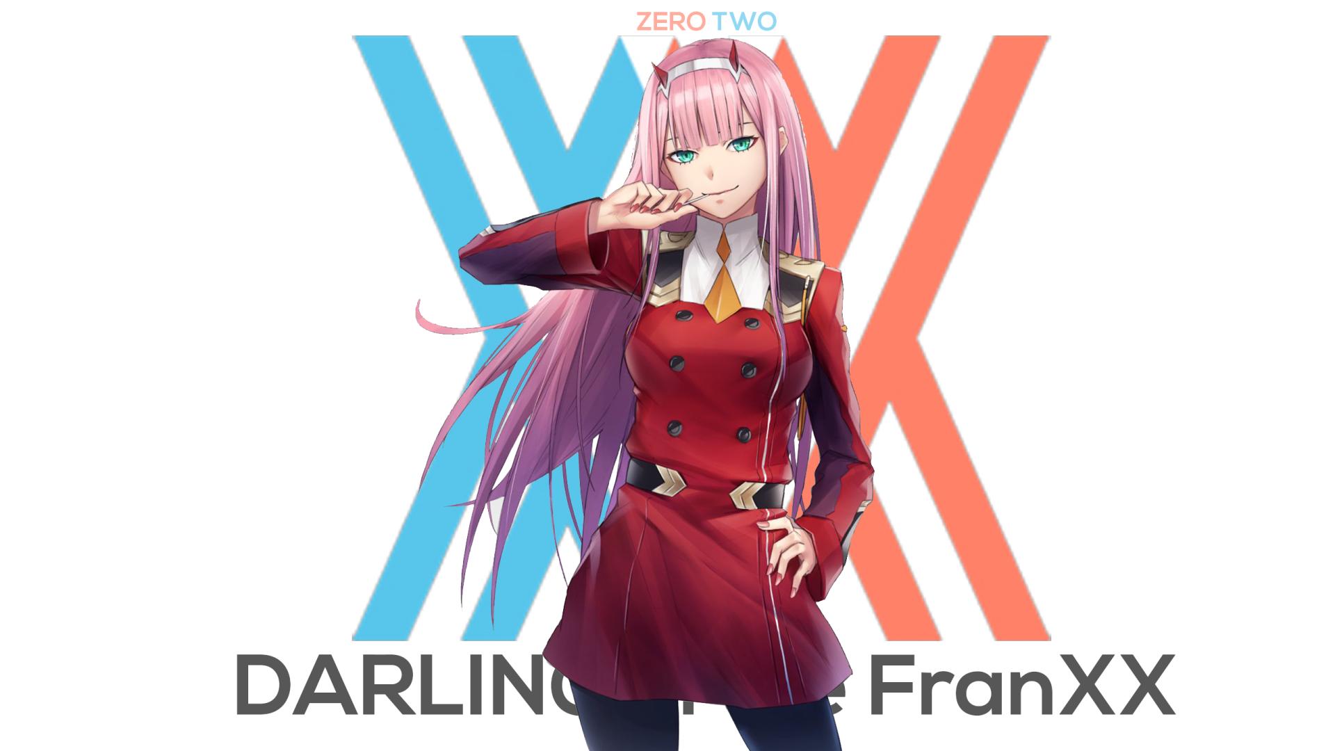 动漫 - Darling in the FranXX  Zero Two (Darling in the FranXX) 壁纸