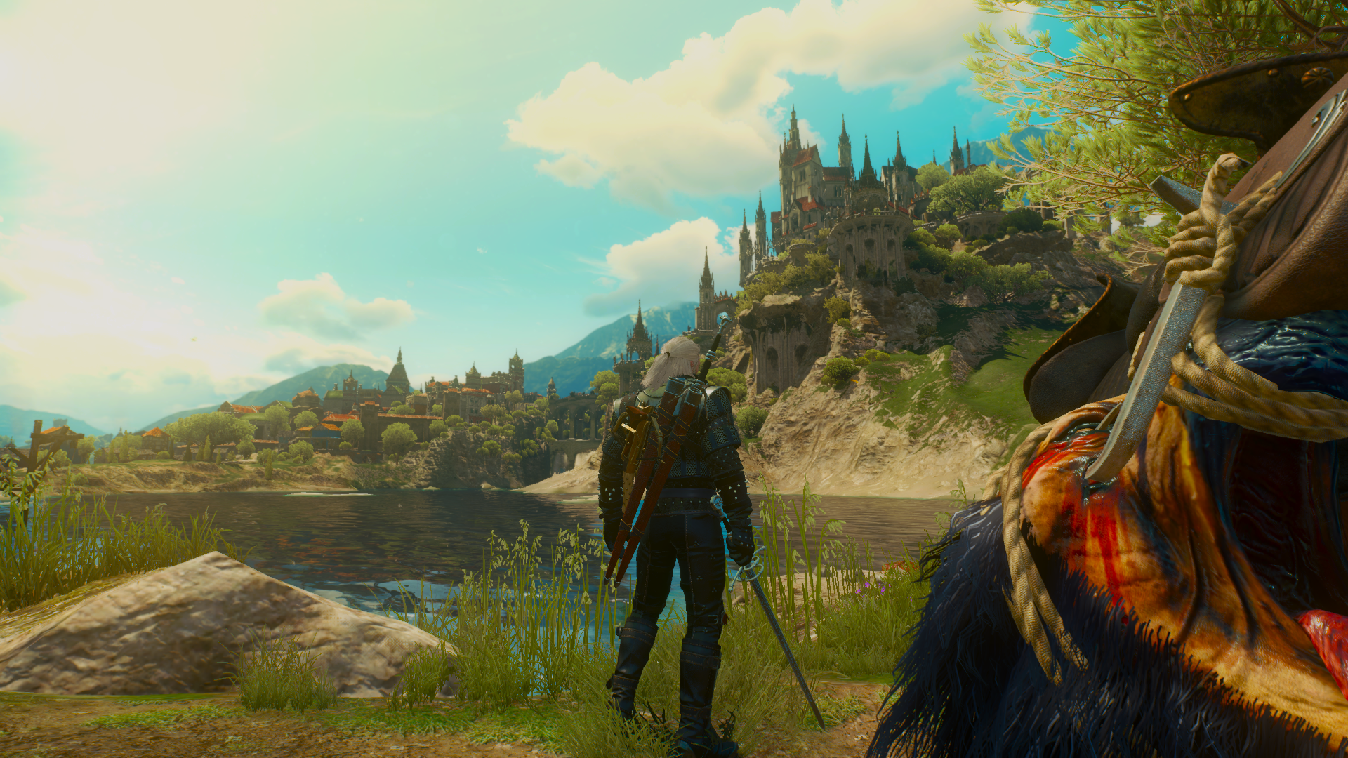 Wallpaper The Witcher 3 Wild Hunt Geralt Of Rivia Cd Project