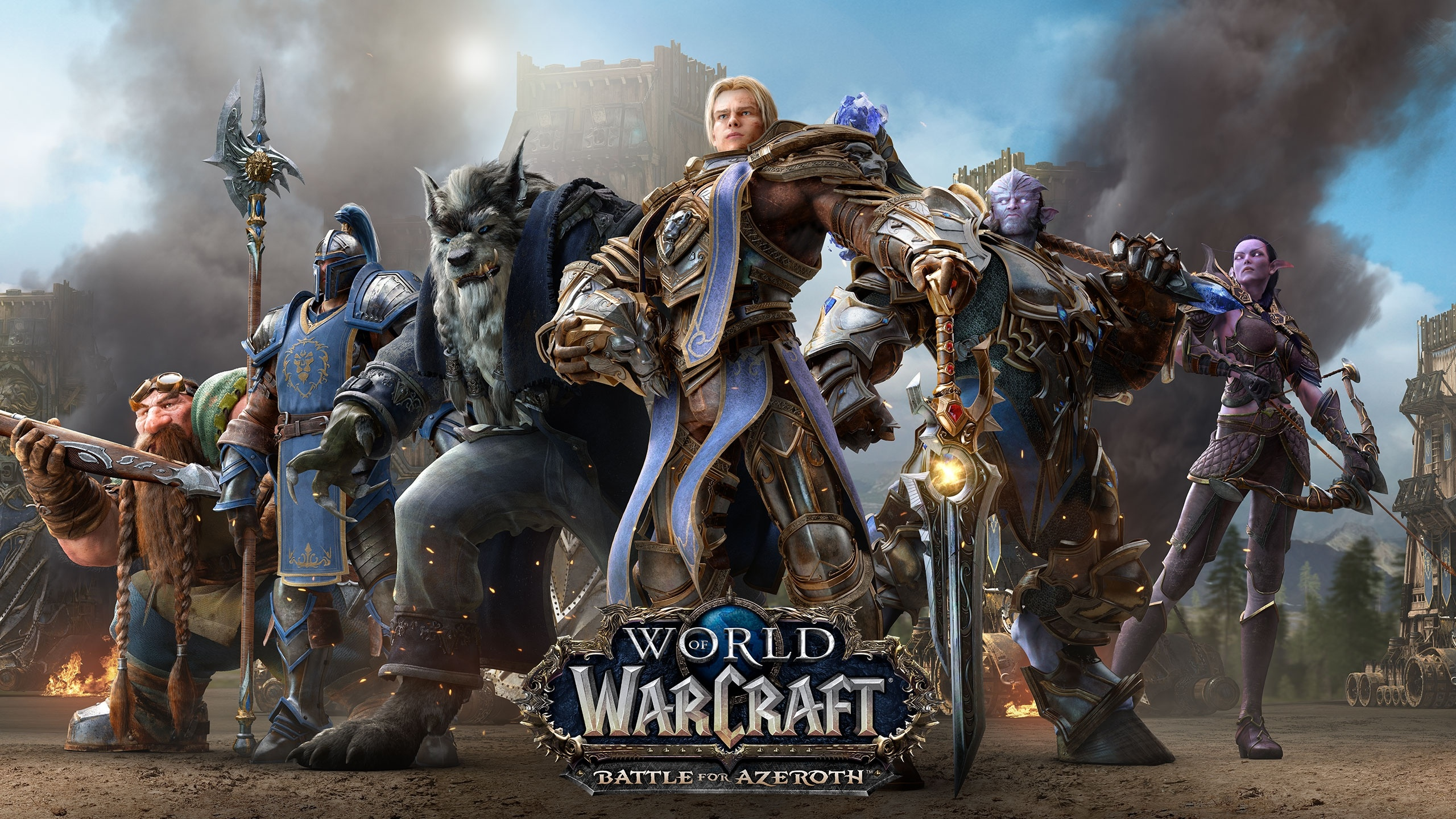 World Of Warcraft Battle For Azeroth Alliance Fondo De