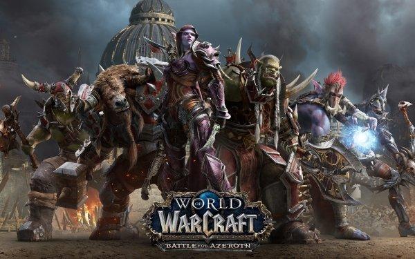 Video Game World of Warcraft: Battle for Azeroth World of Warcraft Sylvanas Windrunner Varok Saurfang HD Wallpaper | Background Image