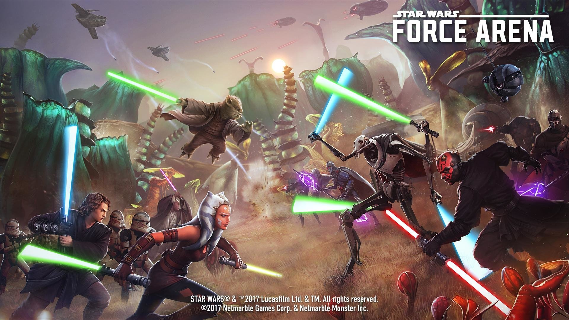 Star Wars Force Arena Hd Wallpaper Background Image 1920x1080 Id 901267 Wallpaper Abyss