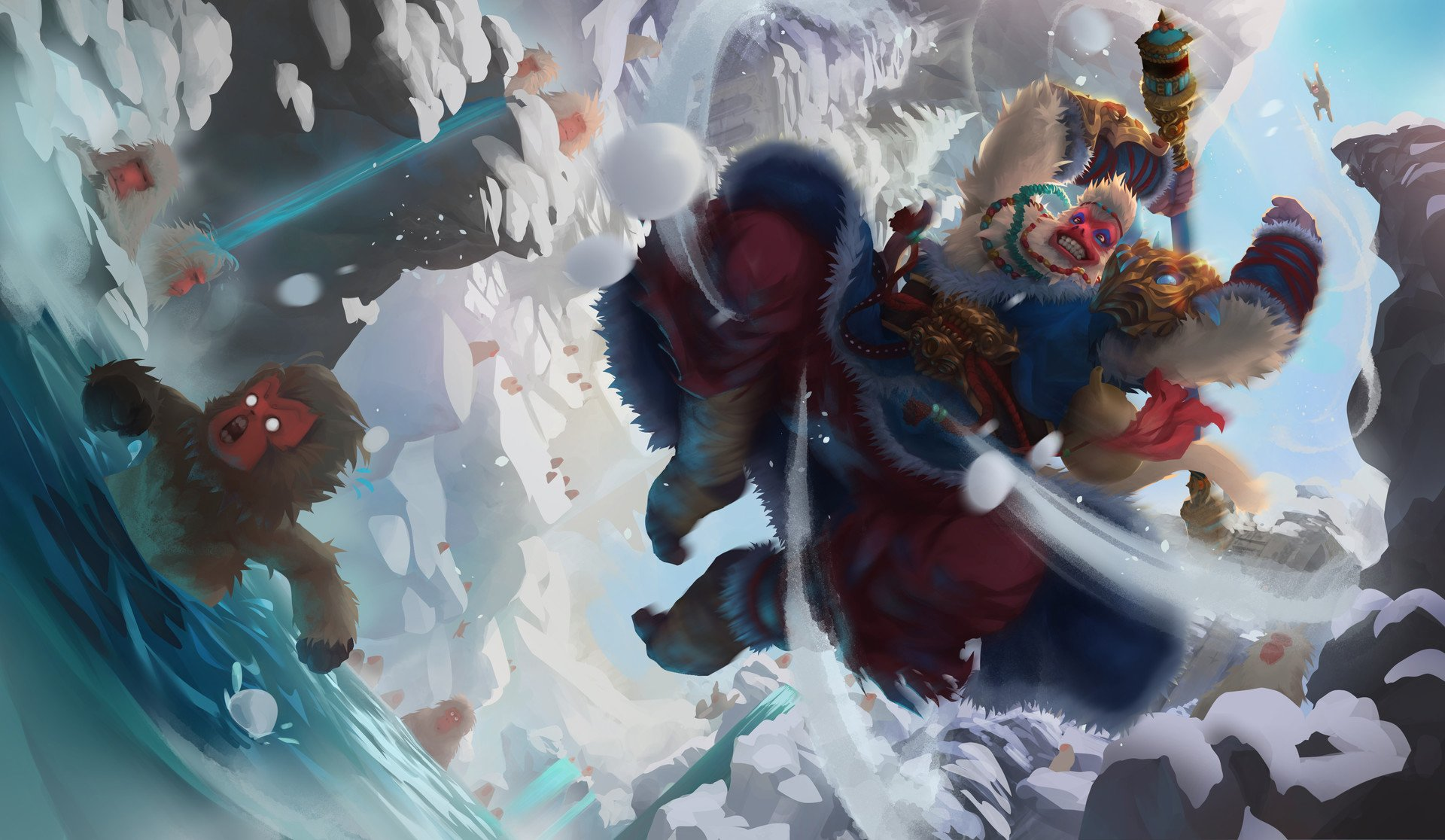 Datorspel - League Of Legends  Wukong (League Of Legends) Bakgrund