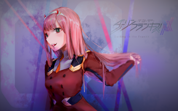 Anime Darling in the FranXX Zero Two HD Wallpaper | Background Image