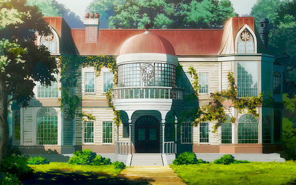 Anime Darling in the FranXX Nature Tree Architecture HD Wallpaper | Background Image