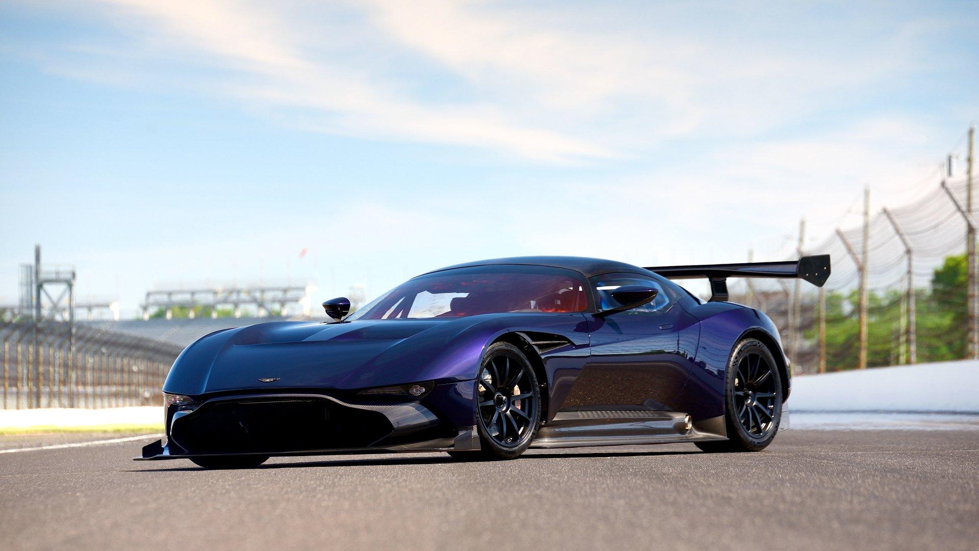 Vehicles - Aston Martin Vulcan  Race Car Supercar Aston Martin Wallpaper