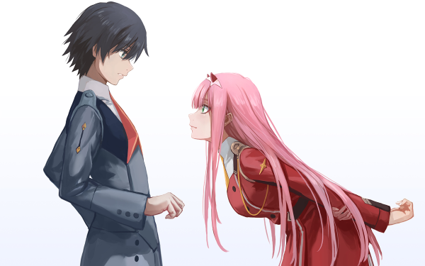 Anime Darling in the FranXX Zero Two Hiro HD Wallpaper | Background Image