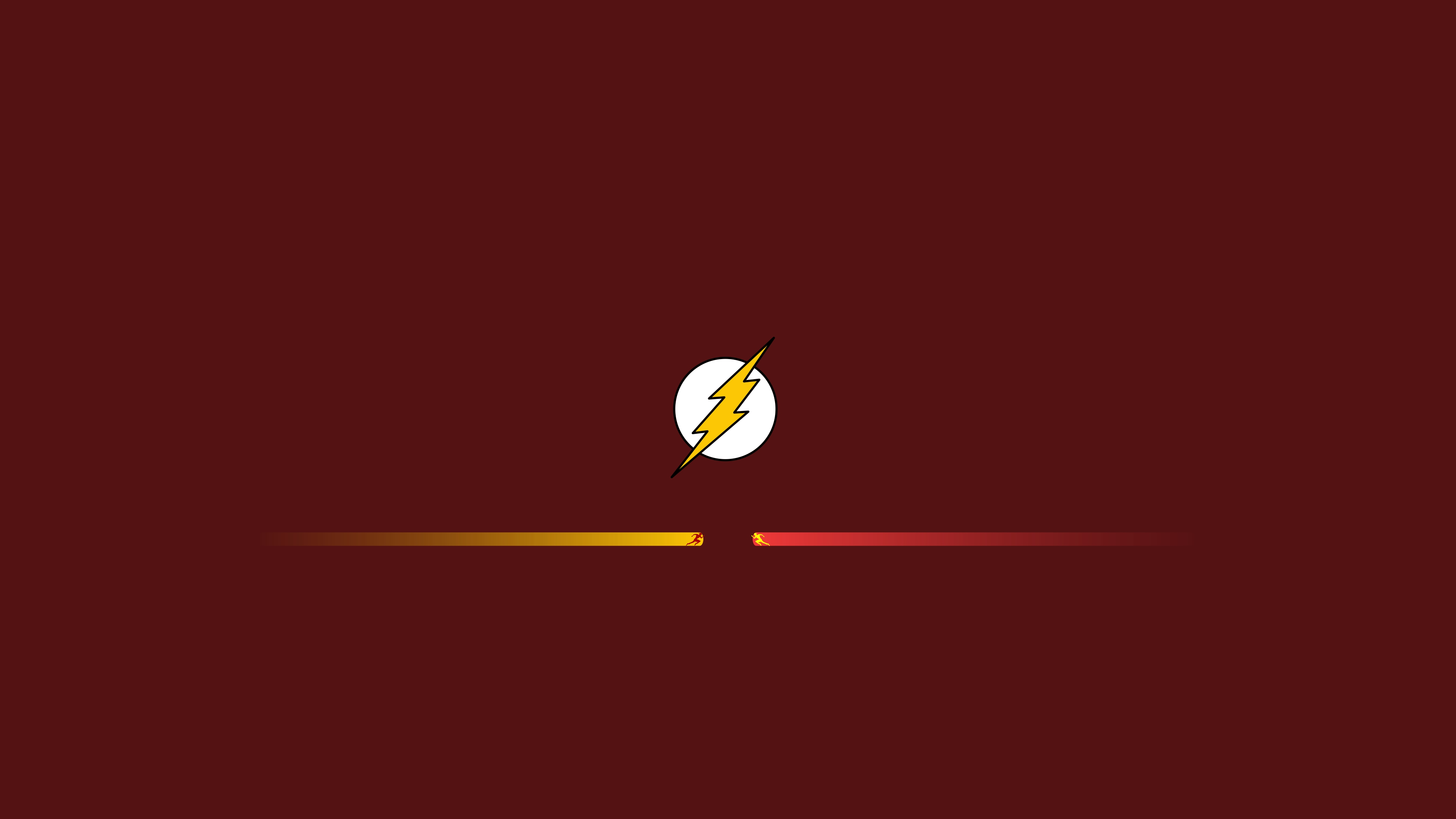 The Flash And Reverse Flash Minimalist Wallpaper 4k Ultra Hd