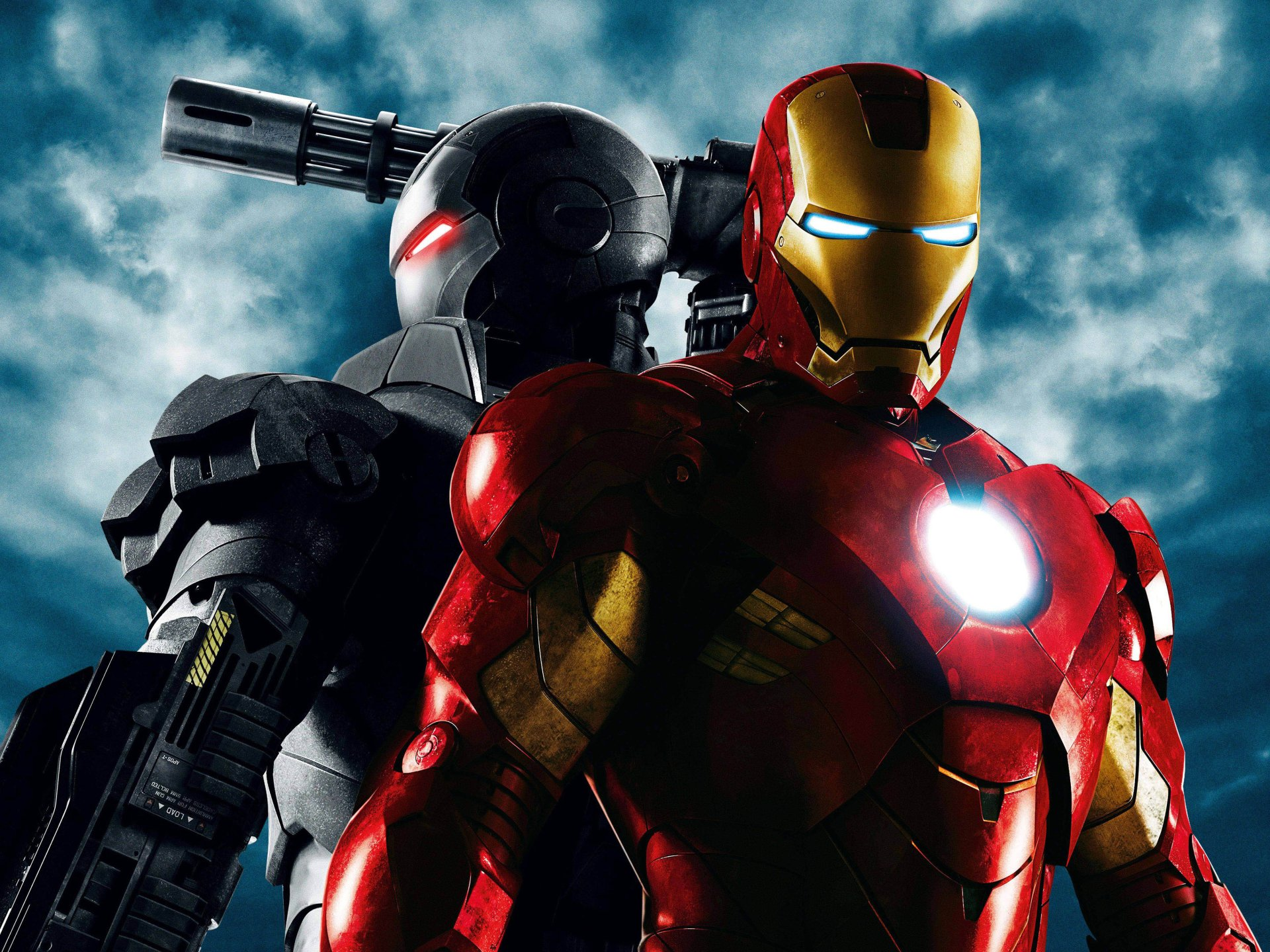 Movie - Iron Man 2  Iron Man Superhero War Machine Tony Stark Wallpaper