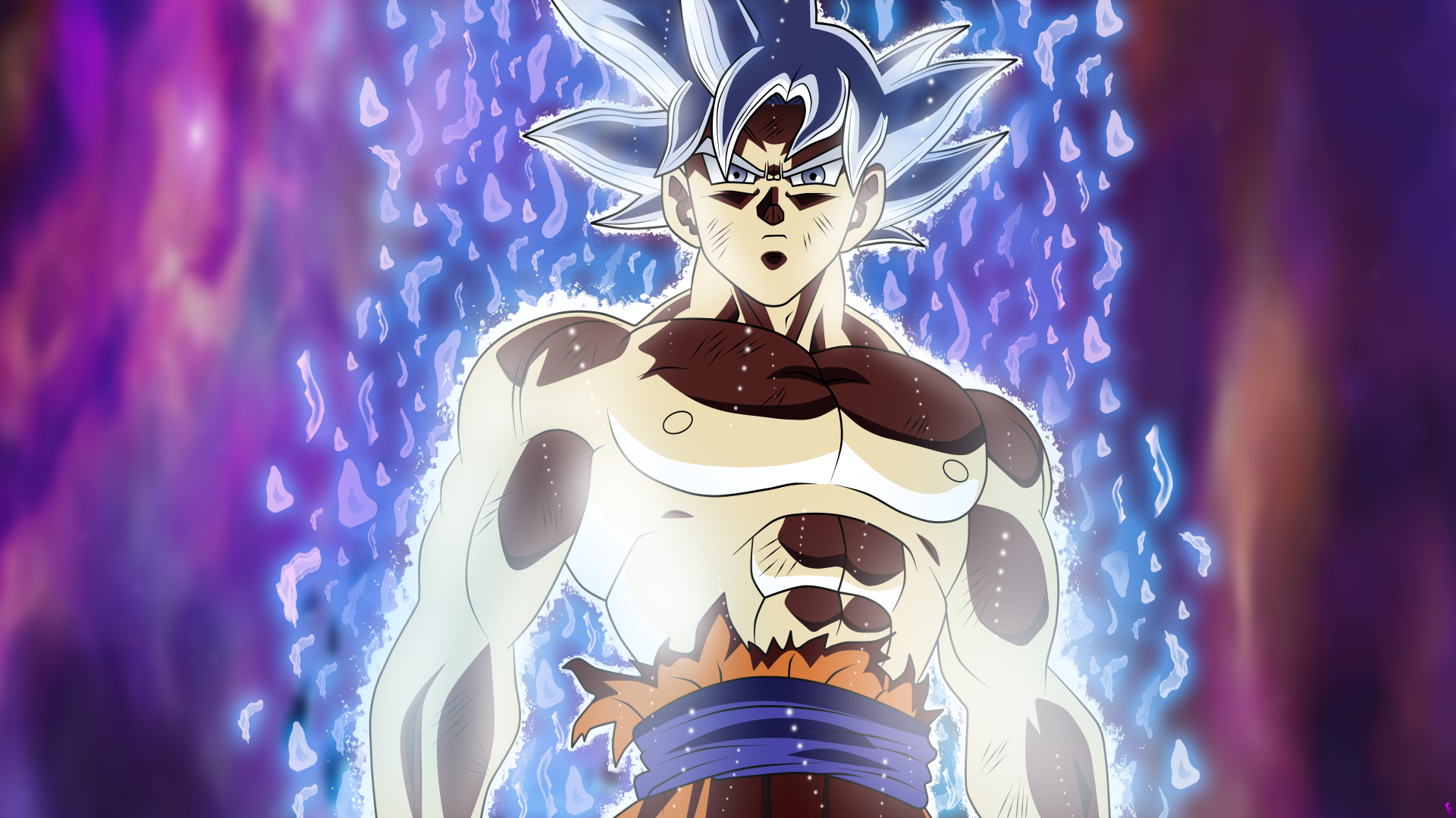 Anime - Dragon Ball Super  Goku Ultra Instinct (Dragon Ball) Wallpaper