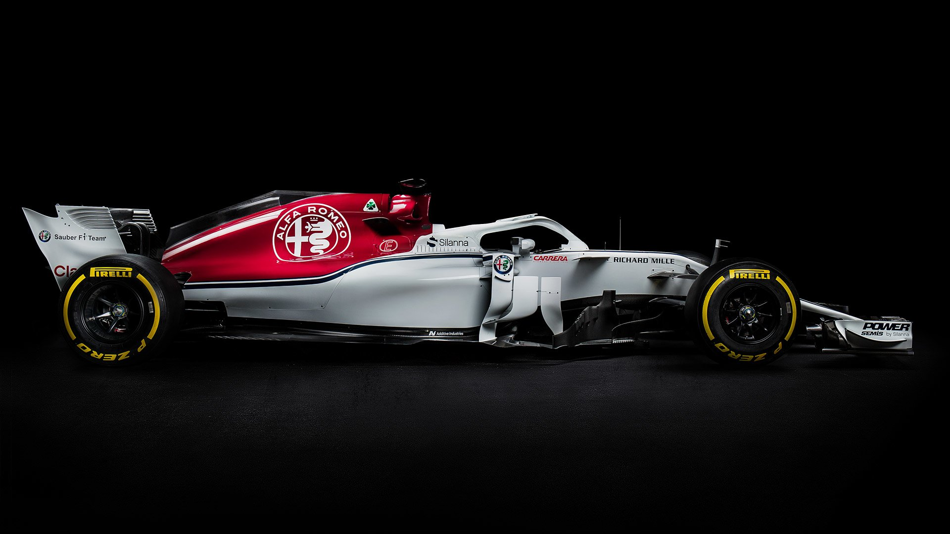 2018 Alfa Romeo Sauber F1 C37 Hd Wallpaper Background Image
