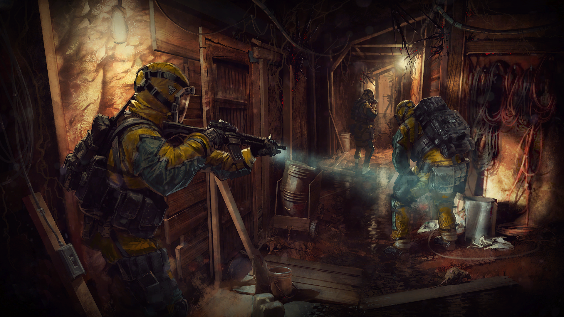 Soldier Video Games Rainbowsix Siege Digital Art Dark: Tom Clancy's Rainbow Six: Siege HD Wallpaper