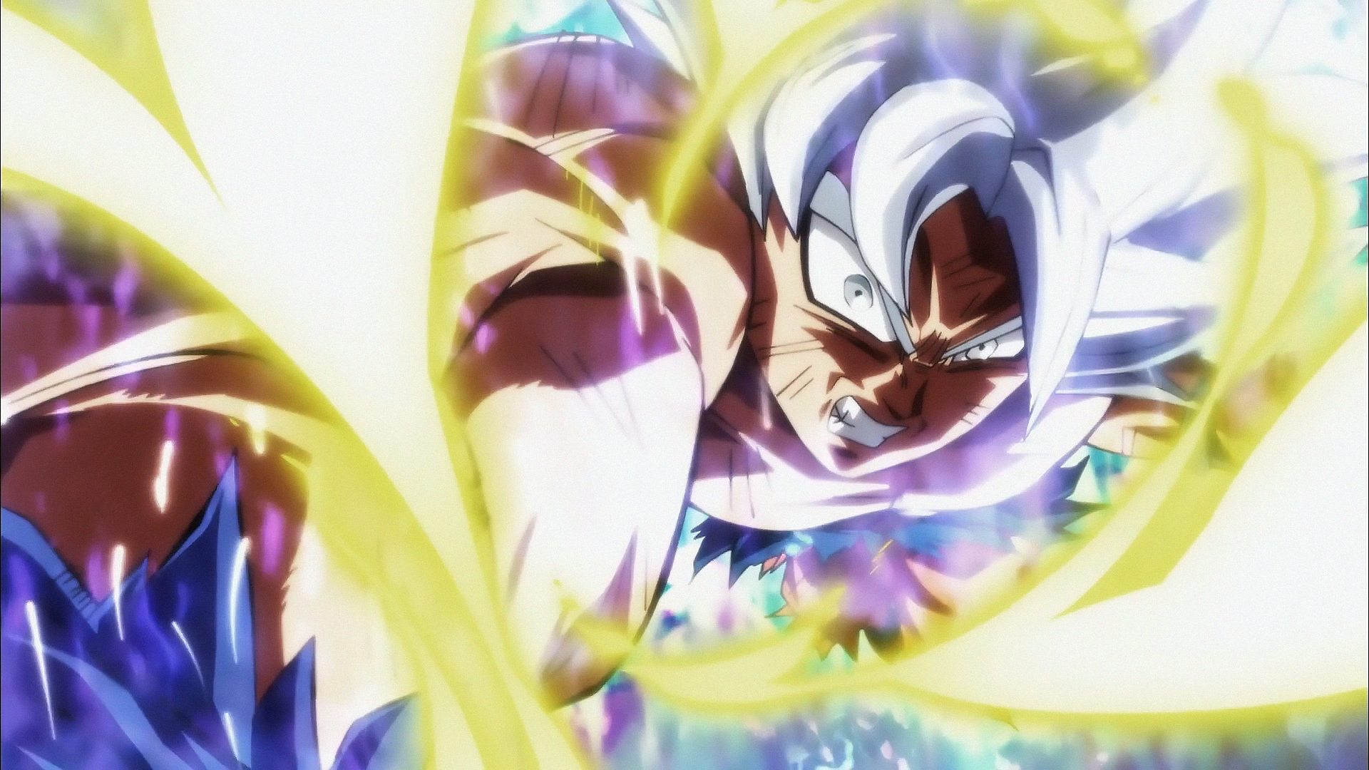 Angry Goku Mastered Ultra Instinct Hd Wallpaper Background Image