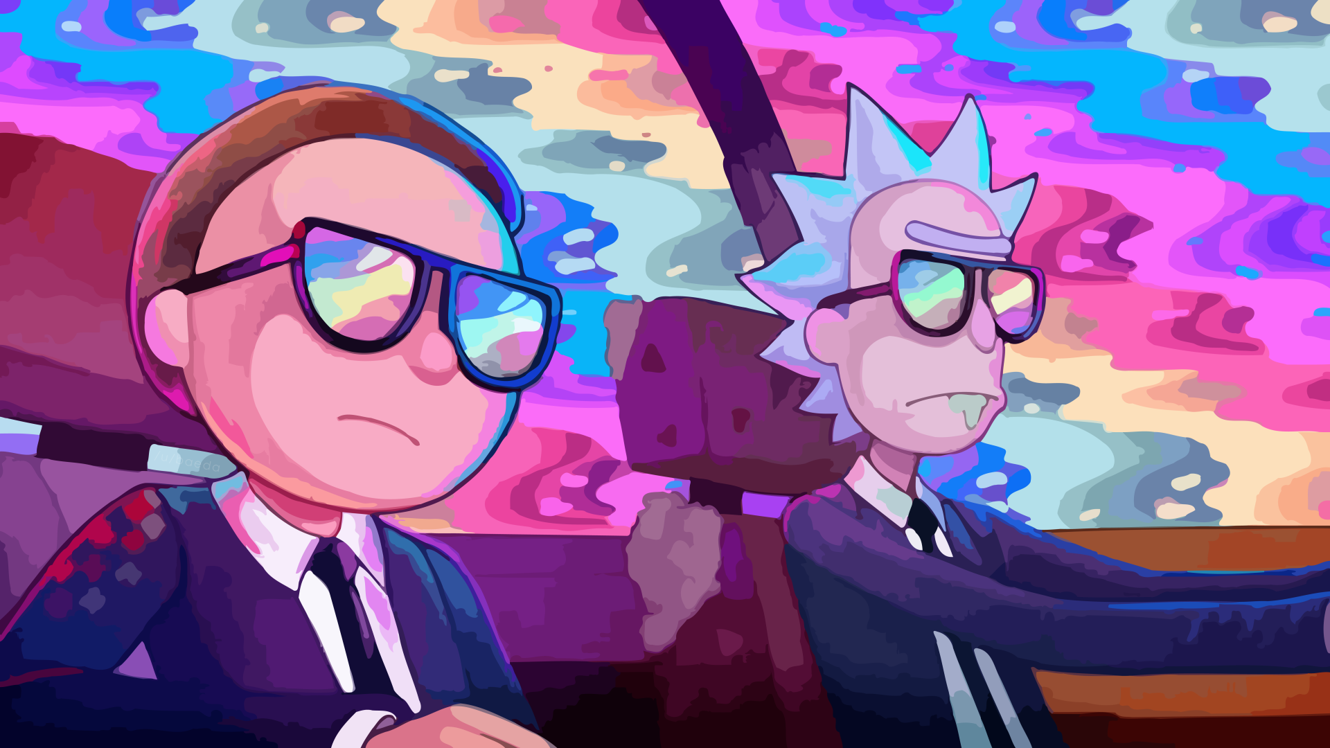 297 Rick And Morty Hd Wallpapers Background Images Wallpaper Abyss