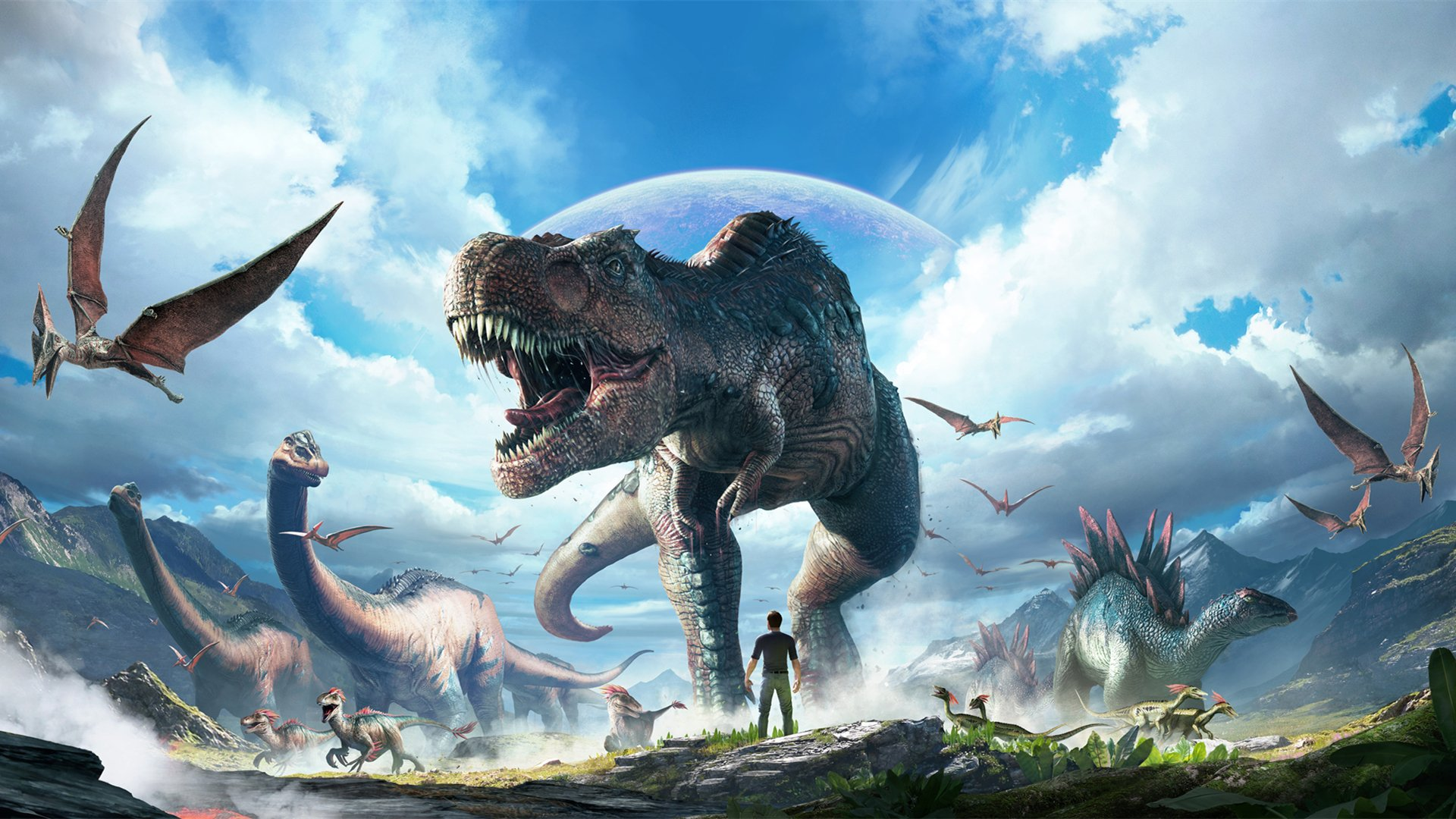 Ark Survival Evolved Backgrounds: ARK: Survival Evolved HD Wallpaper