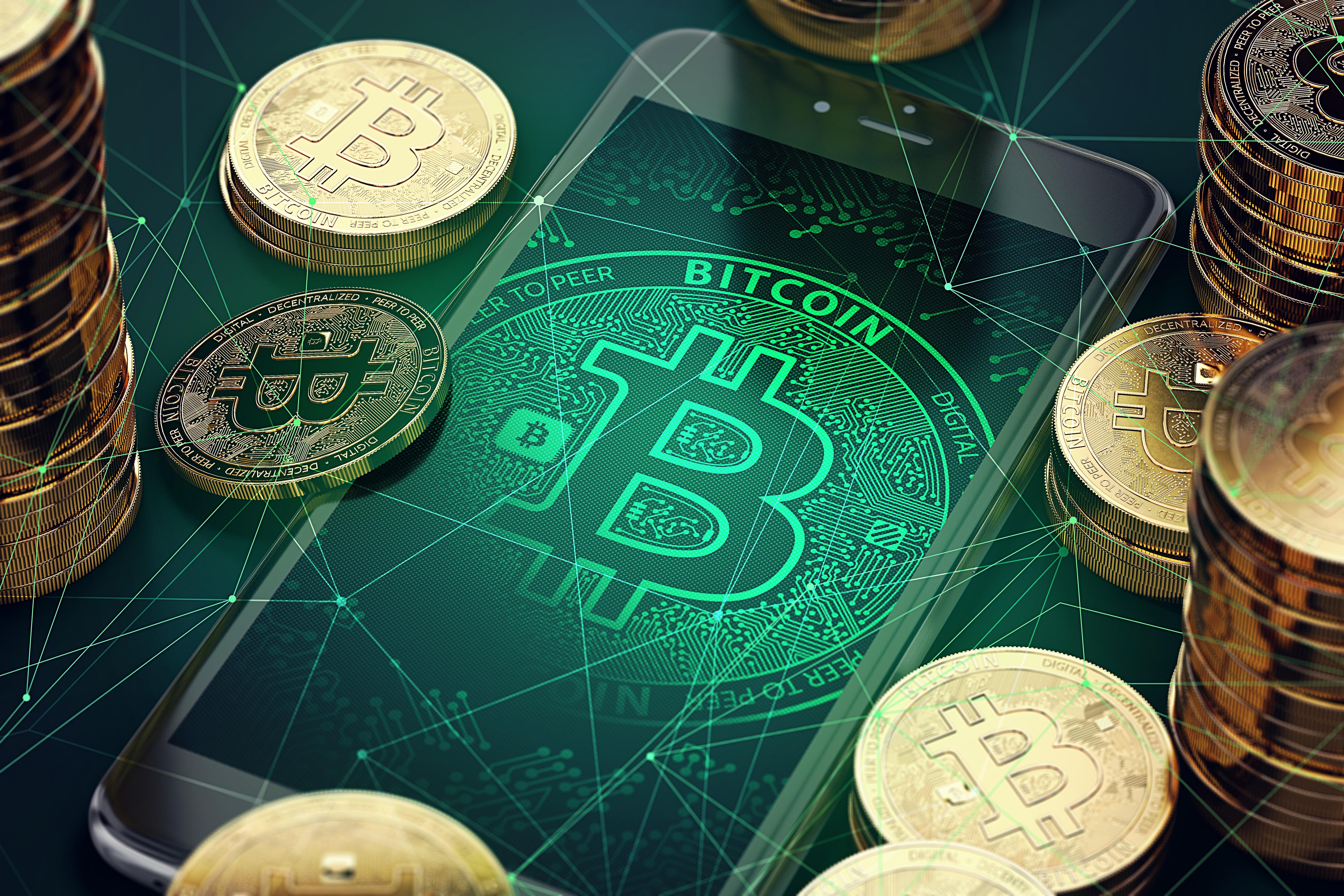 比特币 BTC背景图片 高清壁纸 其他壁纸-第1张