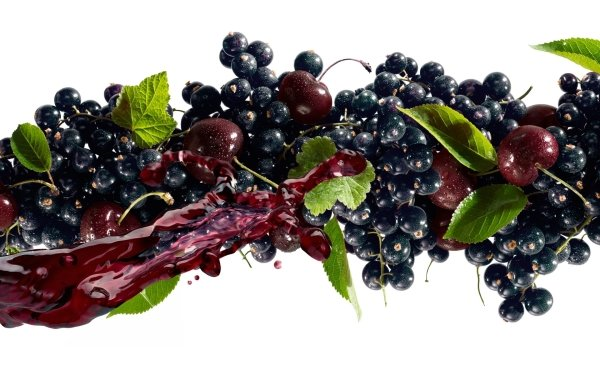Food Fruit Fruits Berry Cherry Blueberry HD Wallpaper | Background Image