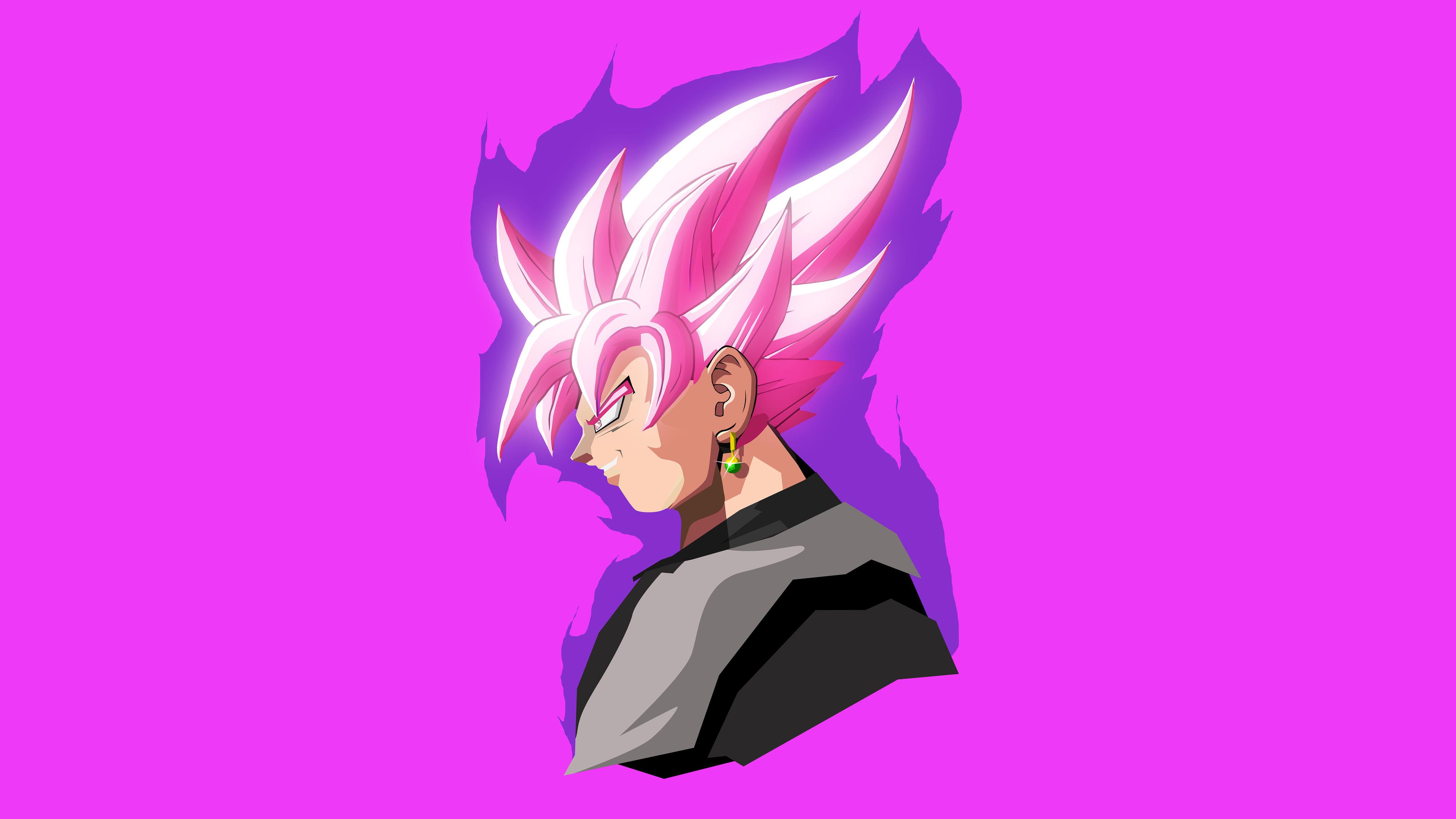 Goku Dragon Ball Super Minimal Artwork 25K 25k Ultra HD Wallpaper ...