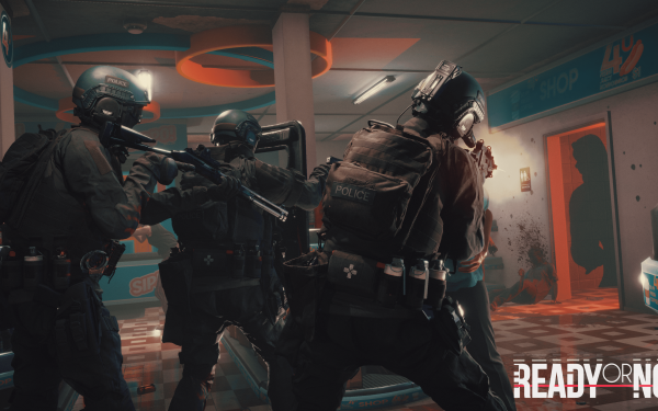 Video Game Ready or Not Police Benelli M4 Heckler & Koch G36 HD Wallpaper | Background Image