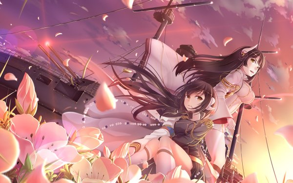 Anime Azur Lane Hiei Mikasa HD Wallpaper | Background Image