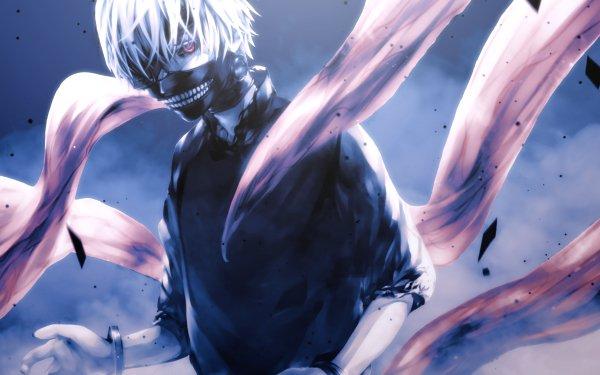 Anime Tokyo Ghoul Ken Kaneki Mask Teeth Kagune HD Wallpaper | Background Image