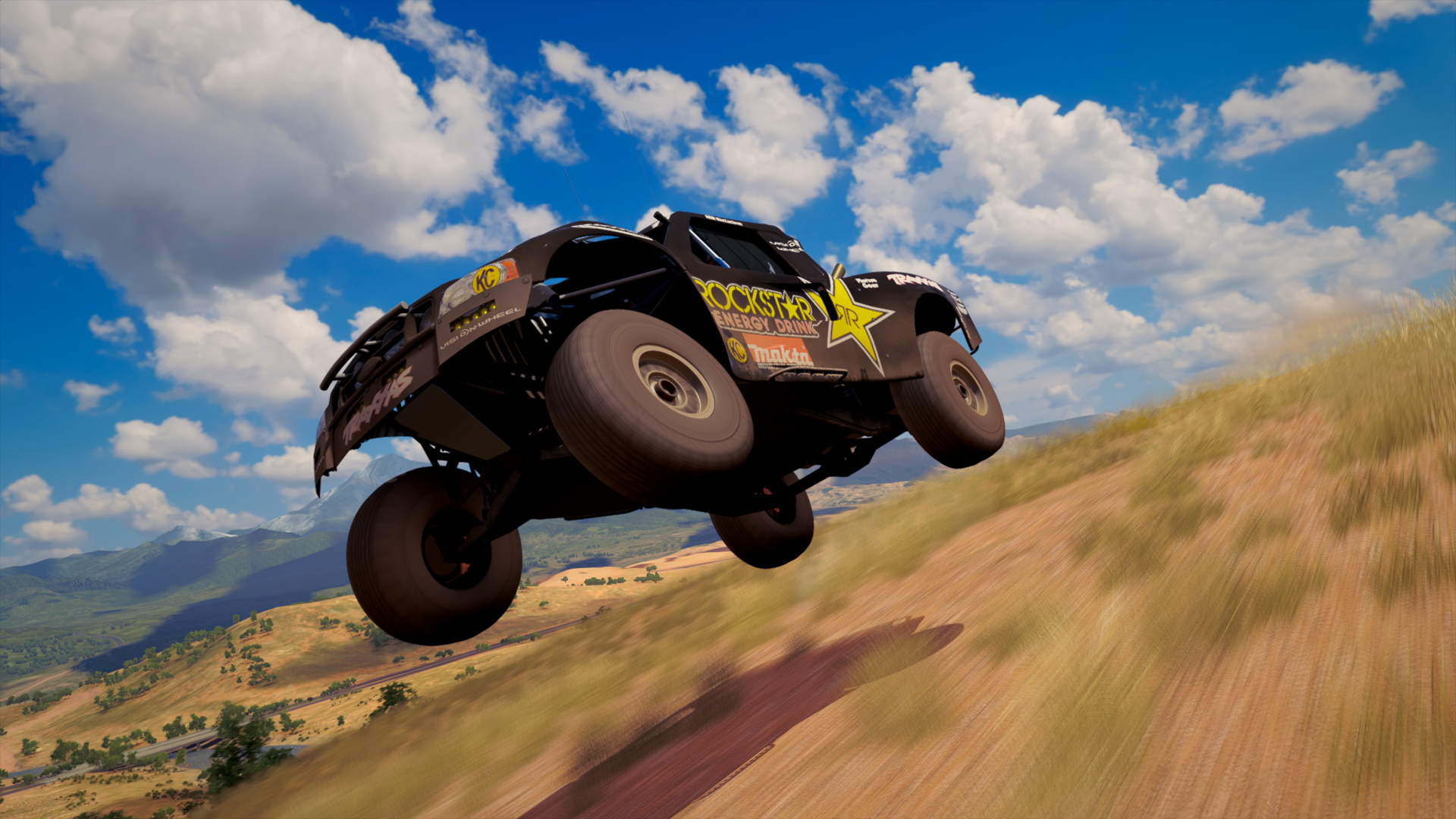 Trophy Truck On Rampage Hd Wallpaper Background Image 1920x1080 Id 916179 Wallpaper Abyss