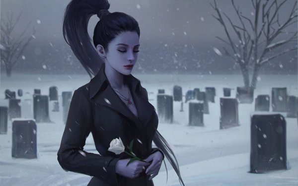 Video Game Overwatch Widowmaker HD Wallpaper   Background Image