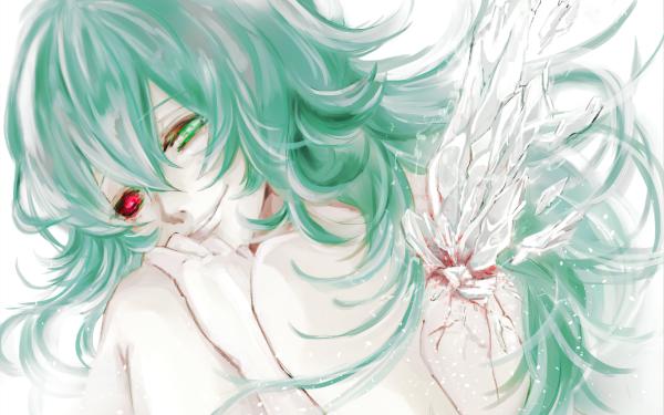 Anime Tokyo Ghoul Eto Yoshimura Smile Green Hair Heterochromia Long Hair Kagune HD Wallpaper | Background Image