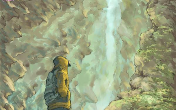 Anime Original Fantasy Raincoat HD Wallpaper   Background Image