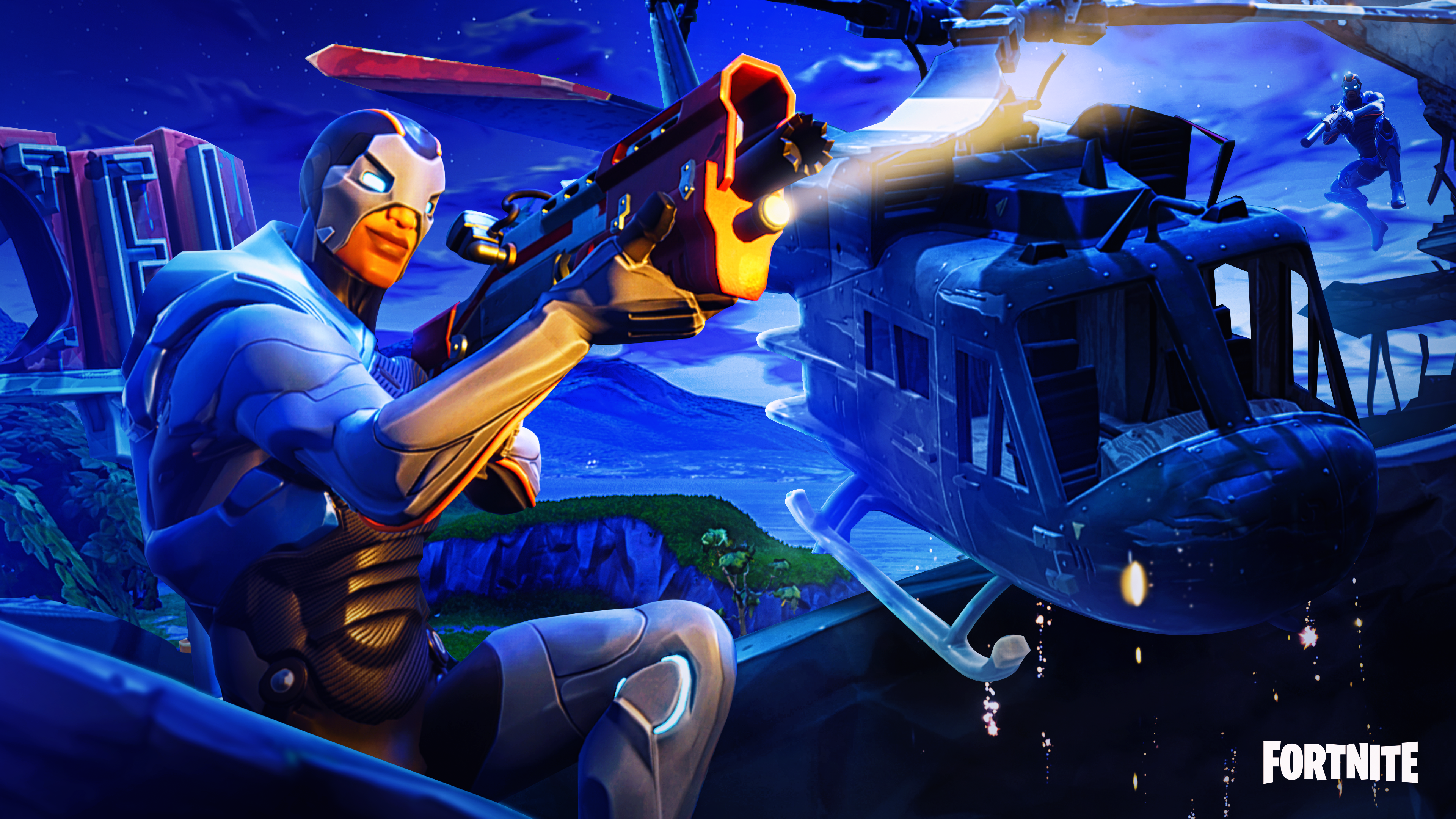Season 4 Fortnite Skin 4k Ultra Hd Wallpaper Hintergrund