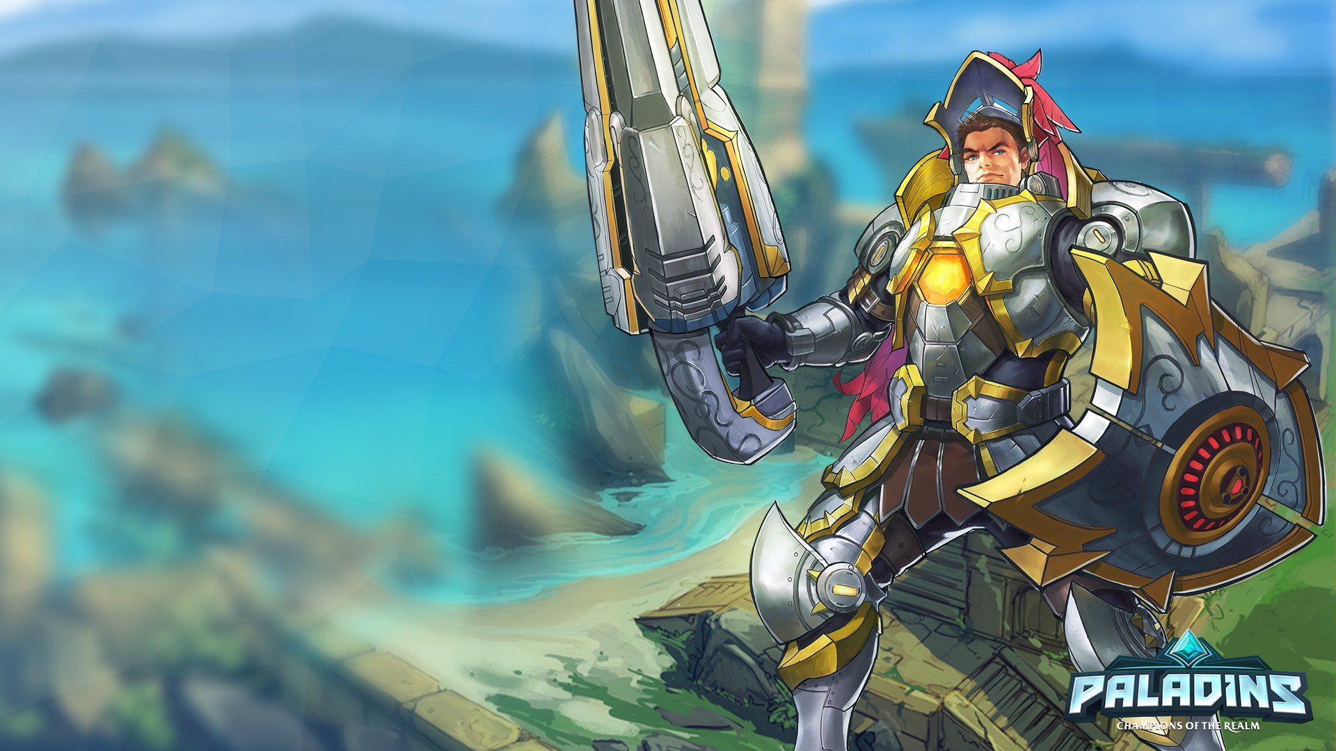 Video Game - Paladins  Paladins (Video Game) Fernando (Paladins) Wallpaper