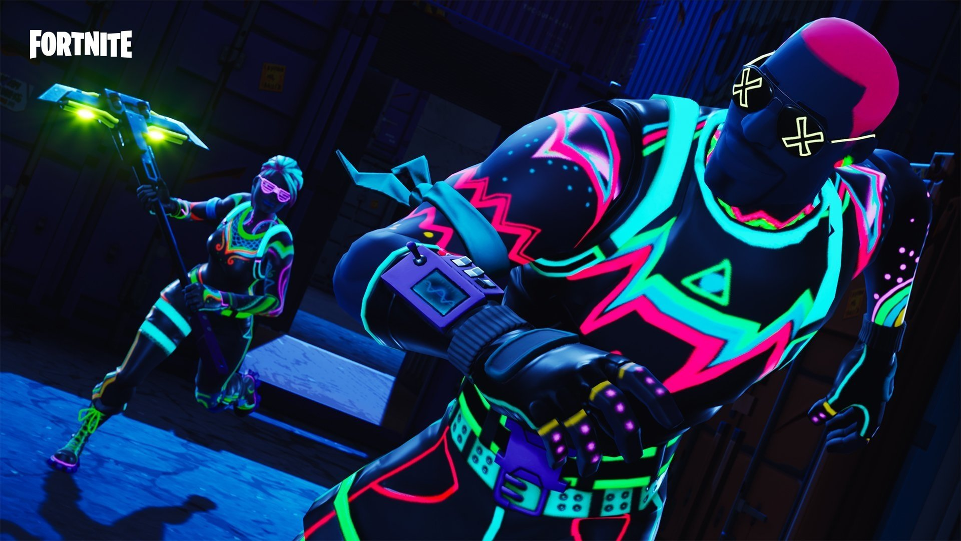 Fortnite New Skin Liteshow Outfit Hd Wallpaper Background Image