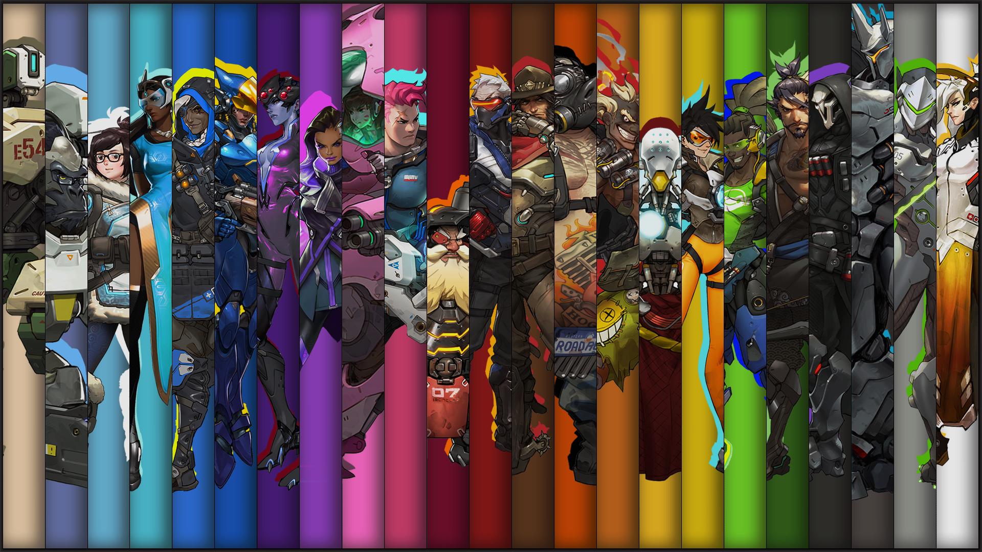 Dual Monitor Wallpaper Overwatch: Overwatch HD Обои