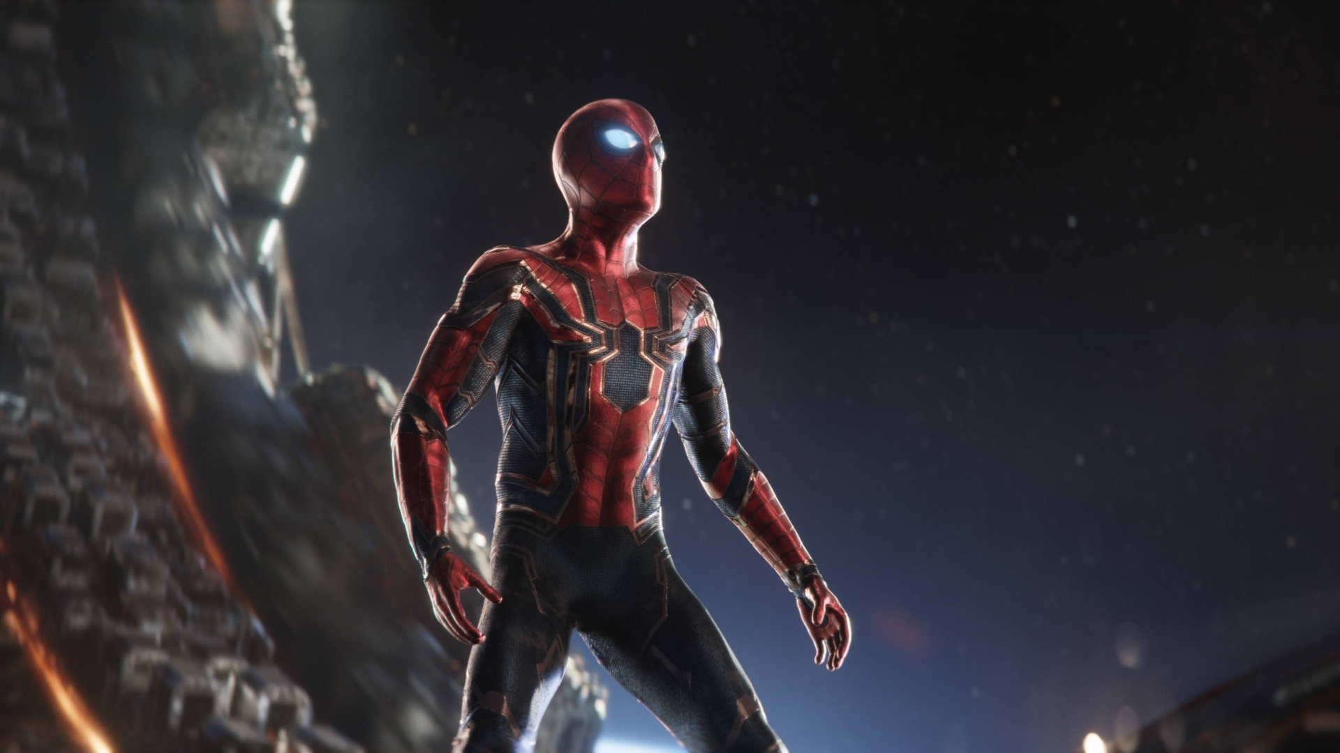 Iron Spider Avengers Infinity War Hd Wallpaper Hintergrund