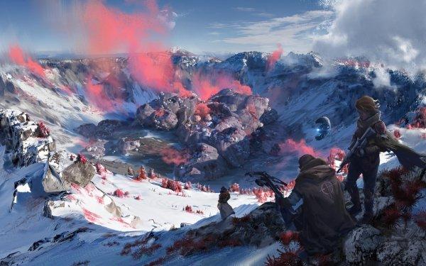 Jeux Vidéo Scavengers Halo 5: Guardians Guerrier Fond d'écran HD   Image