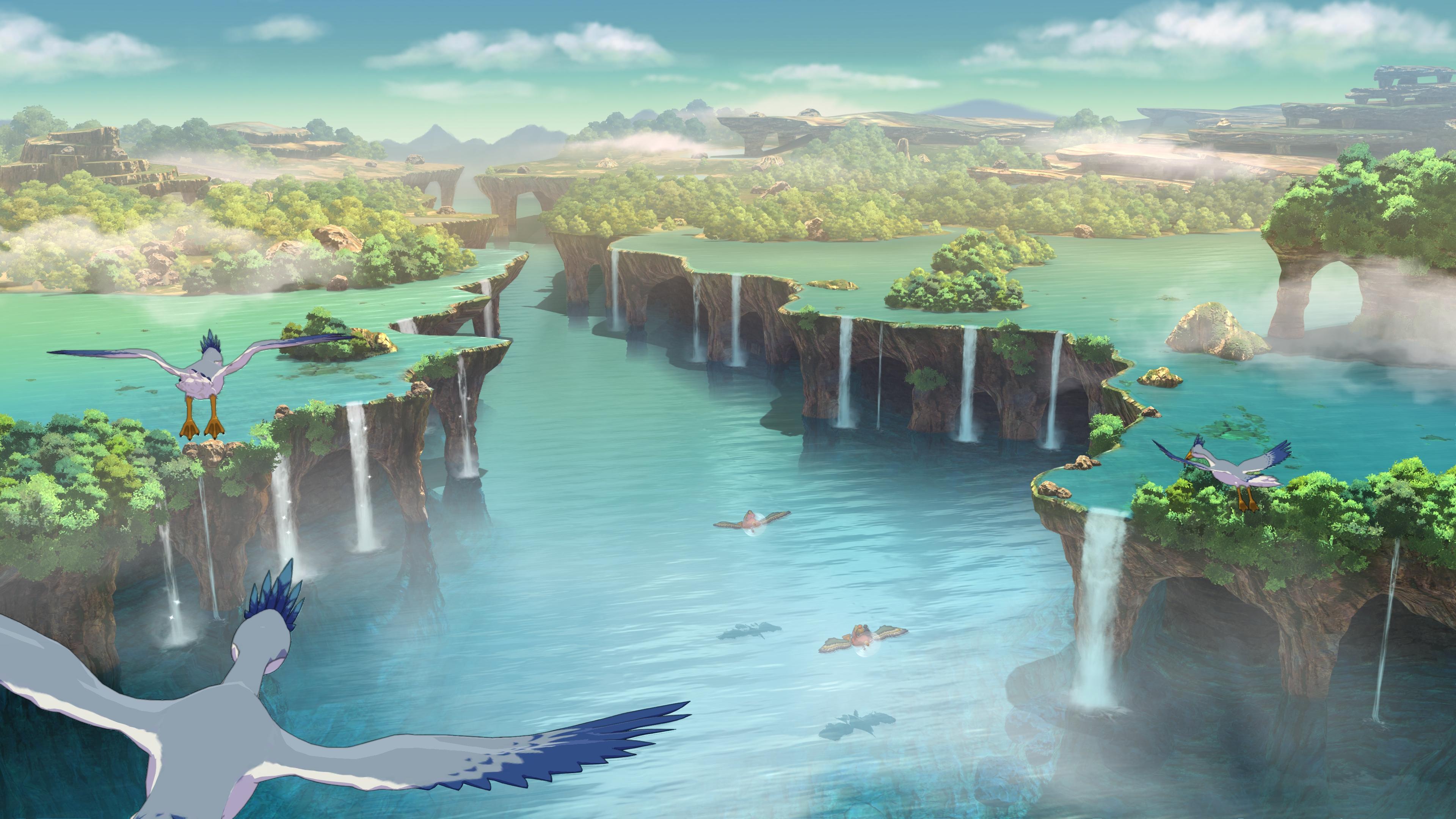 Ni No Kuni Ii Revenant Kingdom 4k Ultra Hd Wallpaper Background