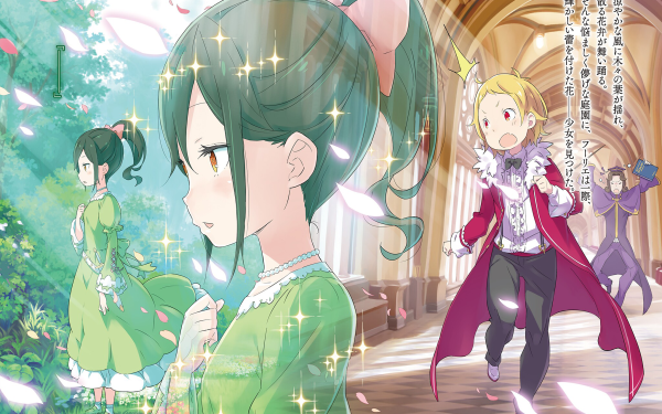 Anime Re:ZERO -Starting Life in Another World- Crusch Karsten Fourier Lugnica HD Wallpaper | Background Image