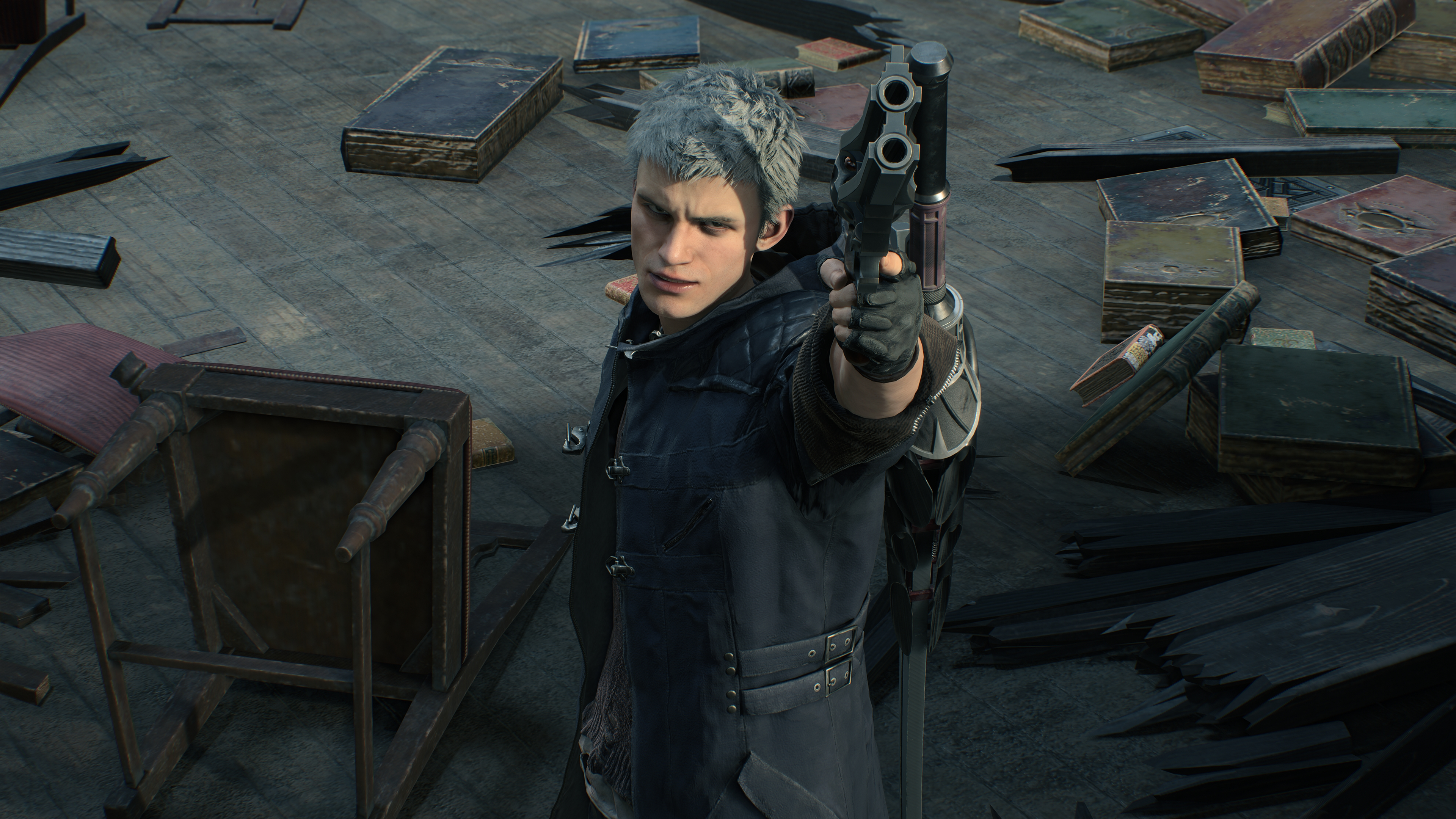 Devil May Cry 5 4k Ultra Hd Wallpaper Background Image 3840x2160