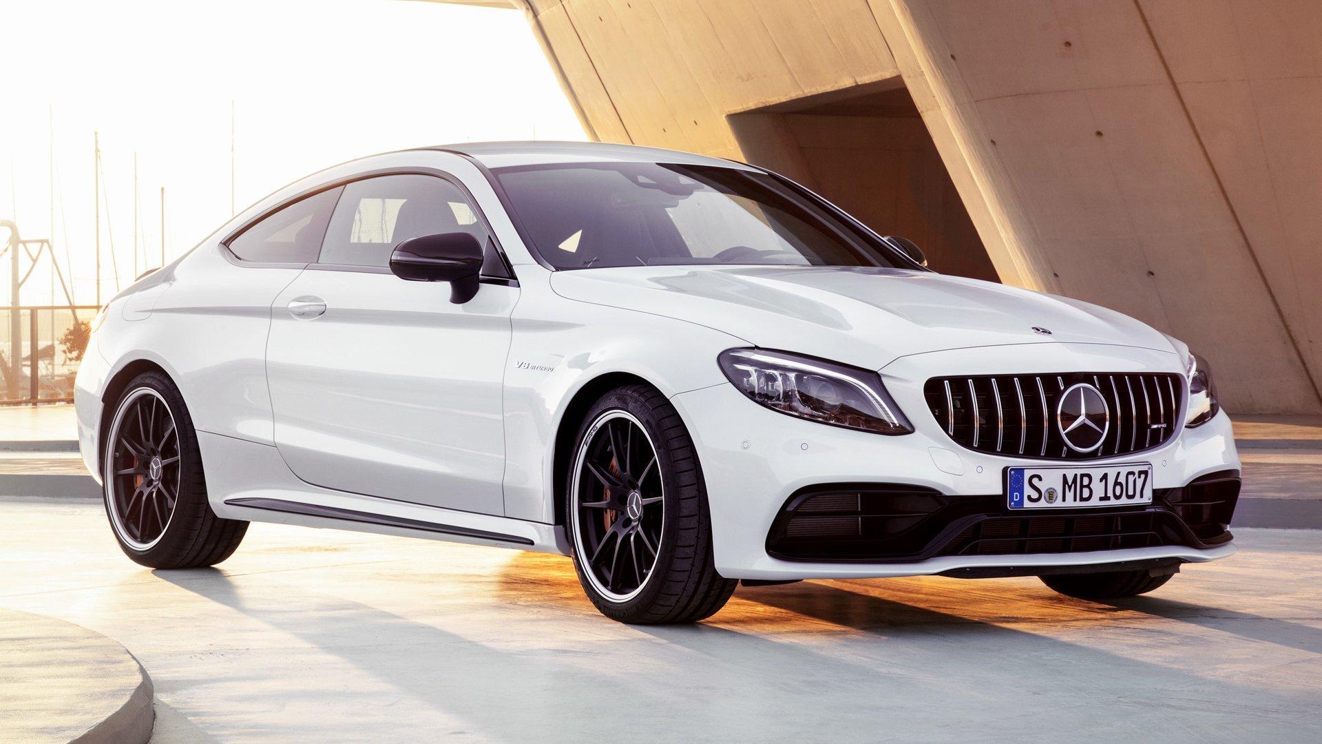2018 Mercedes Amg C 63 S Coupe Papel De Parede Hd Plano De Fundo 1920x1080 Id 926594 Wallpaper Abyss