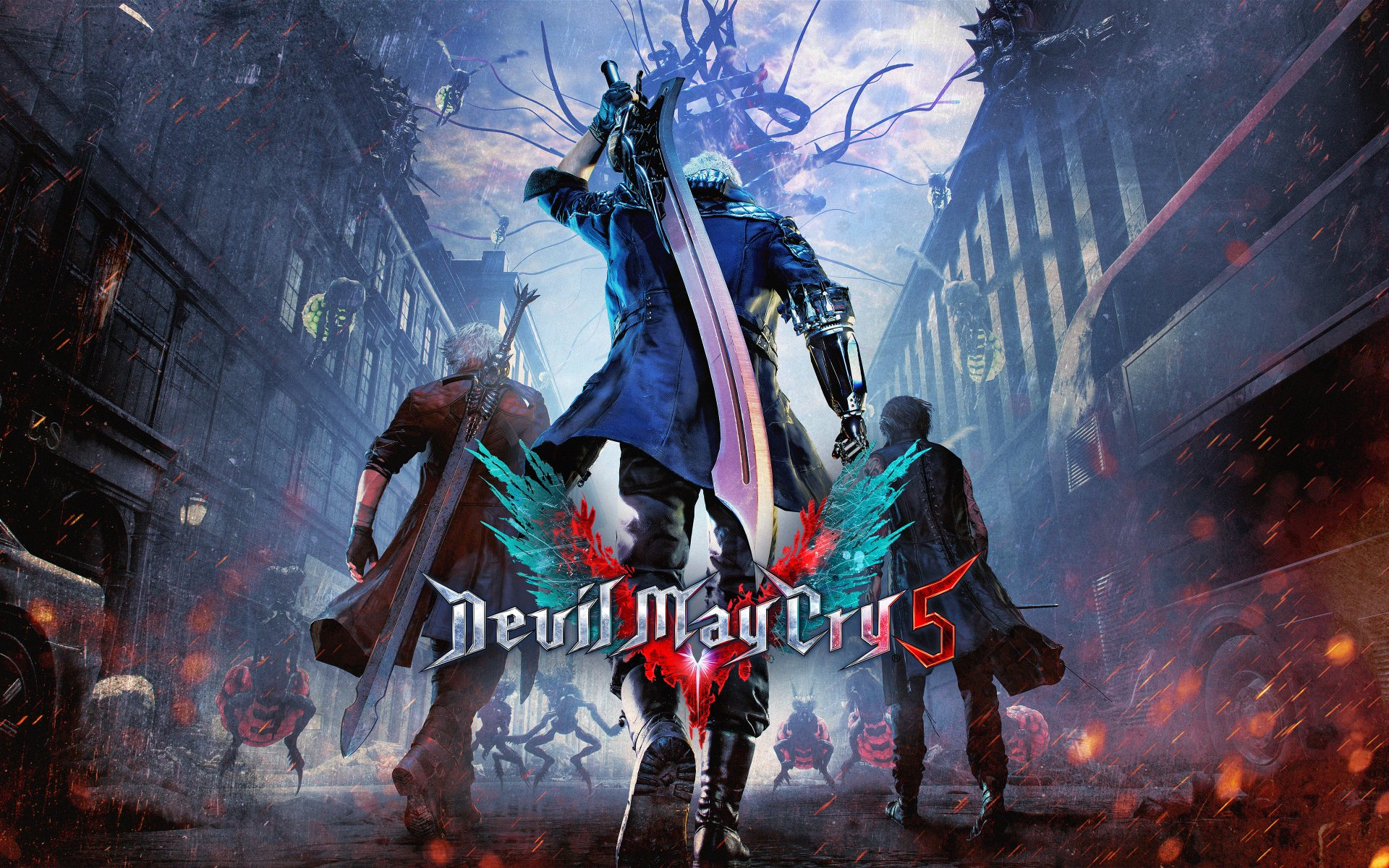 0 Devil May Cry 5 Hd Wallpapers Background Images Wallpaper Abyss