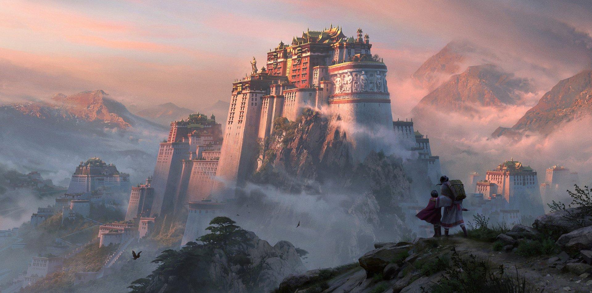 Fantasy - Castle  Wallpaper