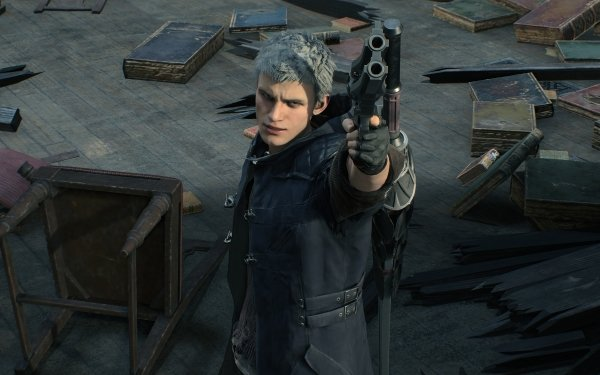 Video Game Devil May Cry 5 Devil May Cry Nero HD Wallpaper | Background Image